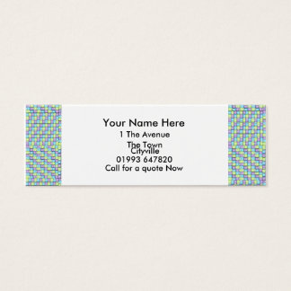 Tubes Mini Business Card