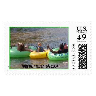 Tubing2007 011, TUBING, HELEN GA 2007 Postage