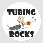 Tubing Rocks T-shirts and Gifts Classic Round Sticker