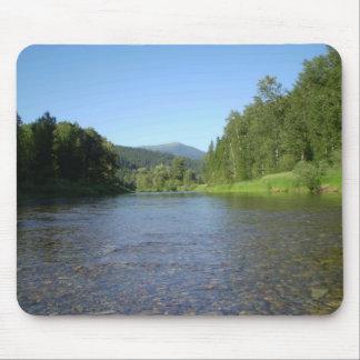 Tubing the River Mousepad