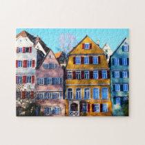 Tübingen Germany. Jigsaw Puzzle