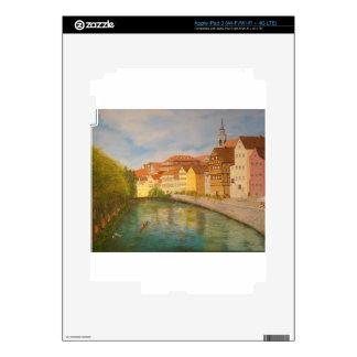 Tubingen in Sunlight Decals For iPad 3