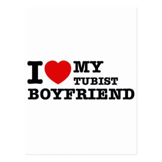 Tubist Boyfriend Designs Postcard