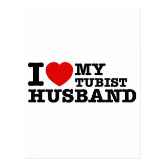Tubist Husband Designs Postcard