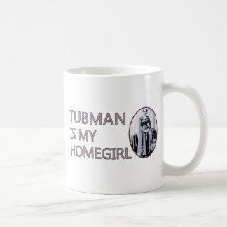 Tubman is my homegirl classic white coffee mug