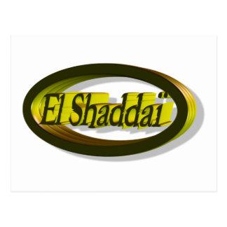 Tubo 3D del EL Shaddaï Postal