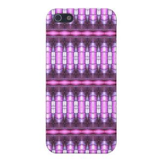 tubo abstracto del rosa del modelo iPhone 5 protector