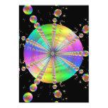 Tubo de burbuja invitación 12,7 x 17,8 cm