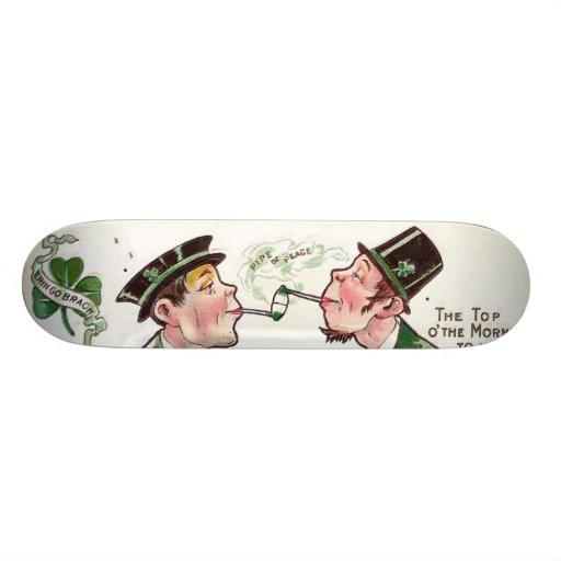 Tubo de paz patin personalizado