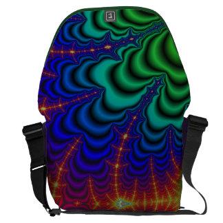 Tubo del espacio del fractal del Wormhole Bolsas De Mensajeria