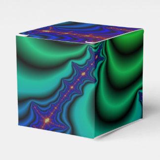 Tubo del espacio del fractal del Wormhole Caja Para Regalo De Boda