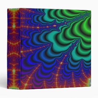 Tubo del espacio del fractal del Wormhole Carpeta 3,8 Cm