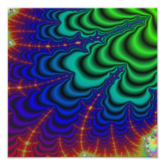 Tubo del espacio del fractal del Wormhole Fotografias