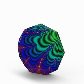 Tubo del espacio del fractal del Wormhole