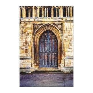 """Tubo principal, catedral de Gloucester, 38"""" x 57"""" Impresión En Lienzo"""