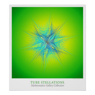 Tubo Stellations Poster