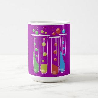 Tubos de ensayo taza de café