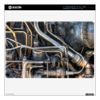 Tubos de la fontanería de Steampunk Calcomanías Para MacBook
