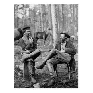 Tubos de la guerra civil, 1864 postal