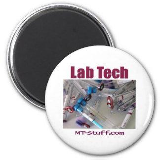 Tubos de la tecnología del laboratorio imán redondo 5 cm