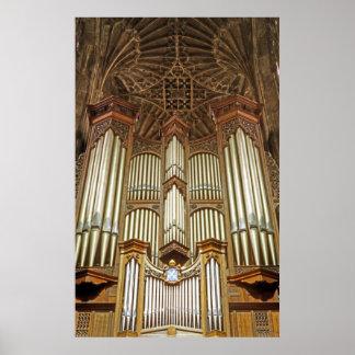 Tubos de órgano (1) póster