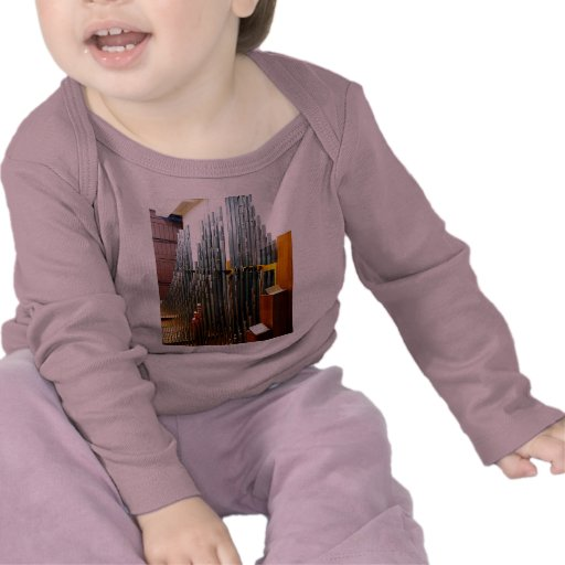 Tubos de órgano camiseta
