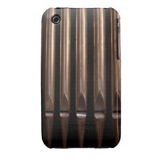 Tubos de órgano iPhone 3 Case-Mate fundas