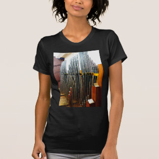 Tubos de órgano t-shirt