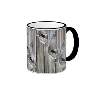 Tubos de órgano taza de café