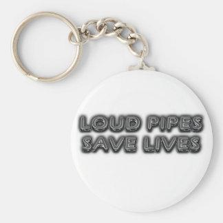 Tubos ruidosos llaveros personalizados