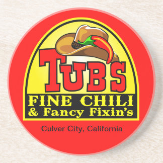 Tubs Chili Coaster