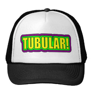 Tubular! (80's Slang) Mesh Hat