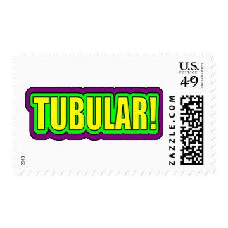 ¡Tubular! (argot de los años 80) Sello