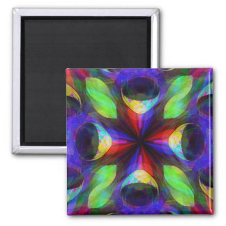 Tubular Bells 2 Inch Square Magnet