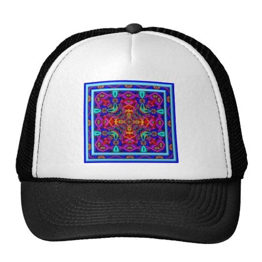 Tubular Bells Kaleidoscope Trucker Hat