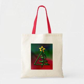 Tubular Chrome Christmas Tree Bag
