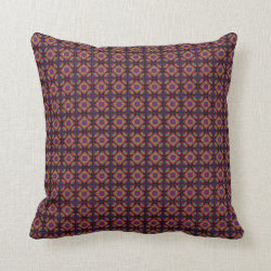 Tubular Fractals Small Repeat Throw Pillow