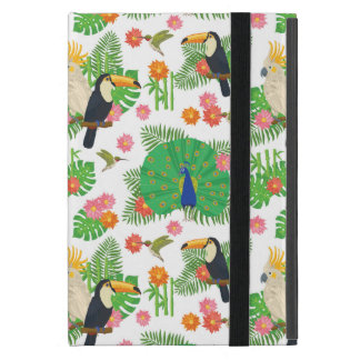 Tucan And Peacock Pattern Cases For iPad Mini