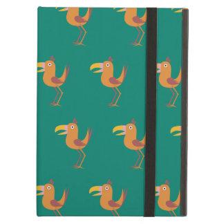 Tucan Bird aqua green iPad Air Case