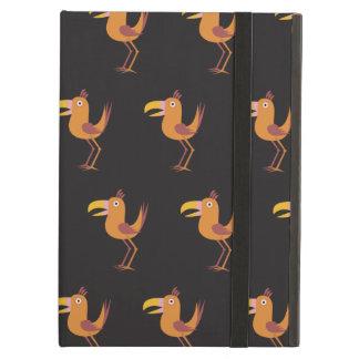 Tucan Bird blck iPad Air Covers