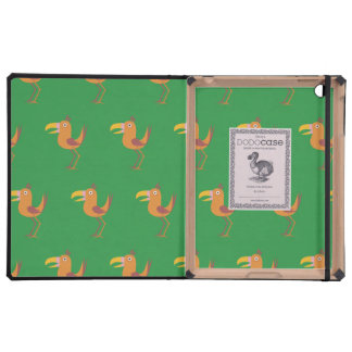 Tucan Bird bright green Covers For iPad