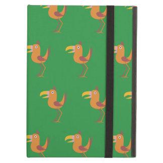 Tucan Bird bright green Case For iPad Air