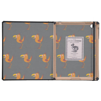 Tucan Bird grey Covers For iPad