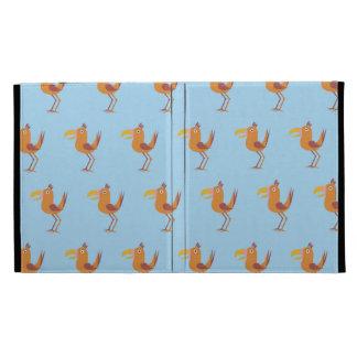 Tucan Bird light blue iPad Cases