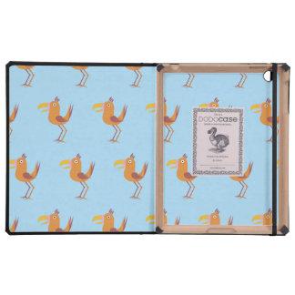 Tucan Bird light blue iPad Cover
