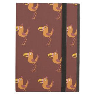 Tucan Bird red brown iPad Air Cover