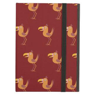 Tucan Bird red iPad Air Cover