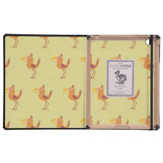 Tucan Bird yellow Cases For iPad