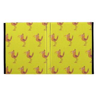 Tucan Bird yellows iPad Folio Covers