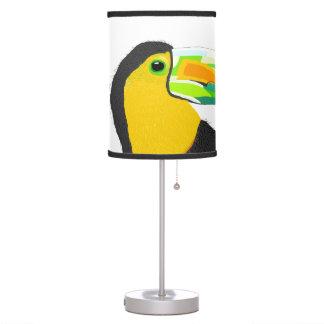 tucan lámpara de mesa